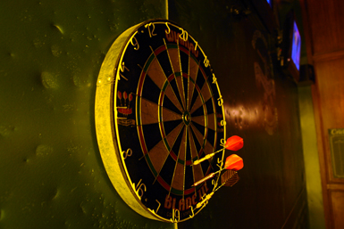 Old-School Dartboard