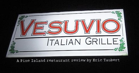 Vesuvio Italian Grille St. James City Pine Island Review