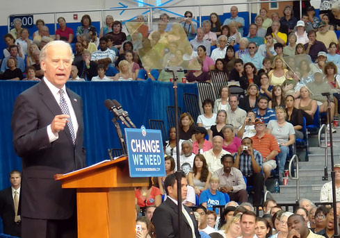 Senator Joe Biden in Fort Myers