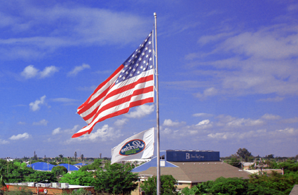 The Flag over Perkins