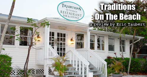 Traditions on the Beach Sanibel Gulf Front Dining